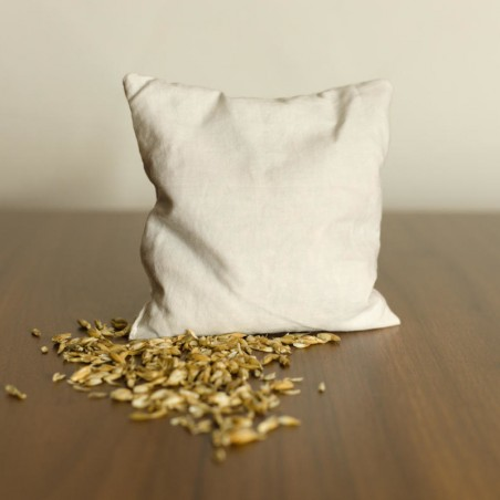 Spelt pillow Inlet